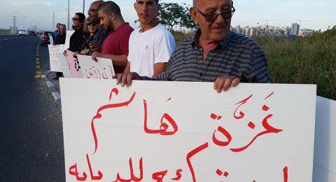 راس عامر: تظاهرة منددة باحداث غزة ومطالبة بحق العودة