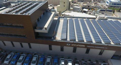 الإعلان عن تشغيل نظام توليد الطاقة بإستخدام الخلايا الشمسية بشكل كامل