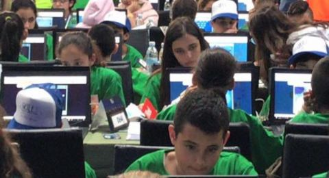 سخنين:طلاب مدرسة الصفا يتألقون في مسابقة الرياضيات (عشرة أصابع) على صعيد الدولة.