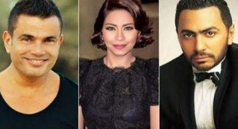 عمرو دياب وتامر حسني وشيرين عبد الوهاب النجوم المصريون الاكثر تأثيراً