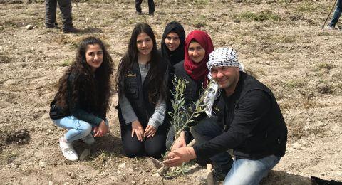 جمعية انماء تواصل مشروعها التطوعي العاشر لزراعة اشجار الزيتون