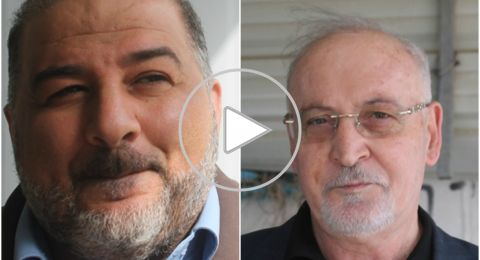 منصور عباس وعصام مخول: في يوم الأرض انتصرت وحدة الصف الكفاحية