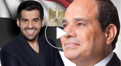 حسين الجسمي يحيي حفل تنصيب السيسي
