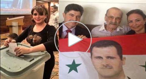 موقع بكرا ينشر قائمة الفنانين الذين صوتوا لبشار الأسد