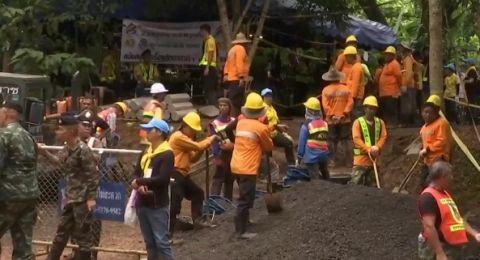 تايلاند: العثور على الأطفال الذين اختفوا داخل كهف قبل أيام