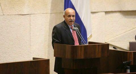 الزبارقة يطالب بإبعاد منصات استخراج الغاز عن شواطئ البلاد