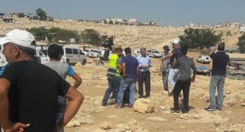هدم وتشريد في تجمع ابو نوار البدوي قرب القدس