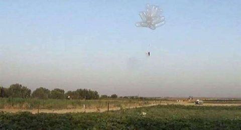 بالون حارق انطلق من غزة ووصل إلى القدس!