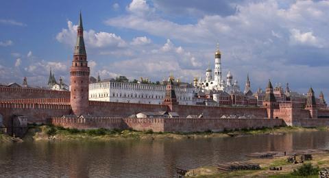 شاهد كيف بدى قصر الكرملين في القرنين الـ18 والـ19