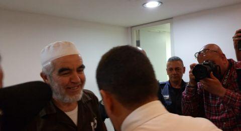 حيفا: محكمة الصلح تفرج عن الشيخ رائد صلاح
