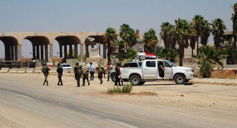 الجيش السوري يؤمن طريق دمشق عمان بشكلٍ كامل