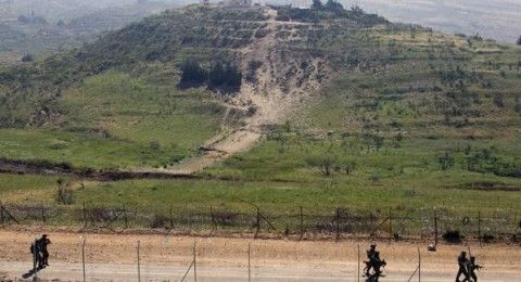 الجيش يعلن انتشار قواته في هضبة الجولان