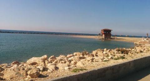 حيفا: احذروا السباحة على شاطئ المريديان ..