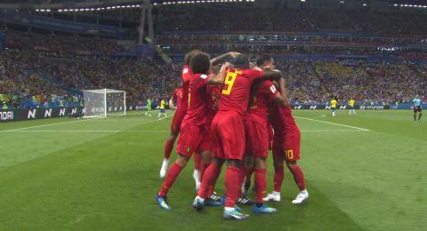 بلجيكا تقصي البرازيل وتتأهل لنصف نهائي المونديال