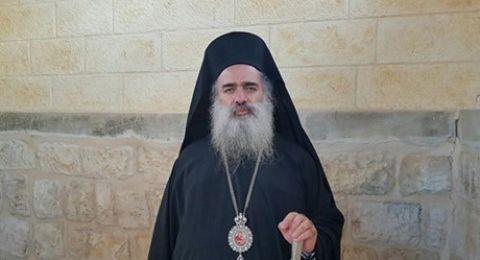 حنا: الاحتلال يعمل على طمس معالم القدس وتشويه طابعها