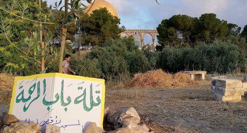 حُرّاس الأقصى يوقفون أعمال تخريب لقوات الاحتلال في المسجد المبارك