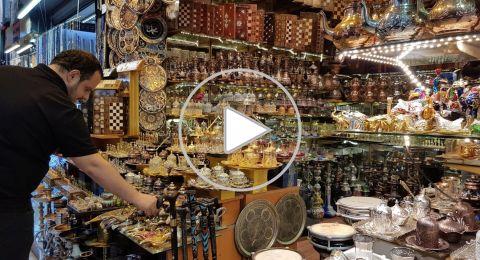 زيارة الى البازار الكبير السوق المسقوف في اسطنبول