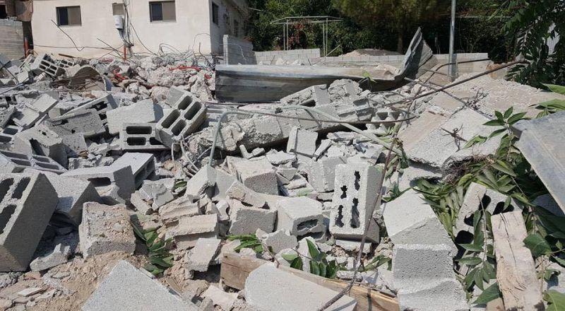 هدم مغسلة وحملة إسرائيلية ضد متاجر ومحلات سلوان