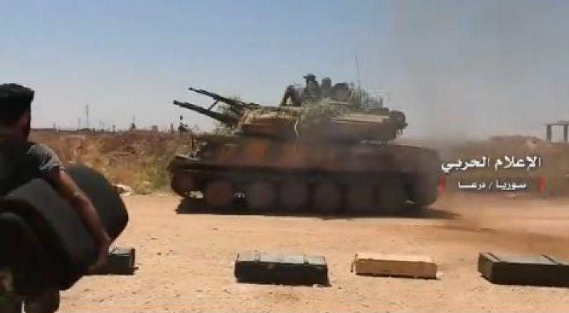 الجماعات المسلحة في الجنوب السوري توافق على تسليم سلاحها
