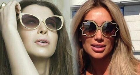 هل نظارة مايا دياب الأكثر غرابة .. أم نظارة نانسي عجرم؟