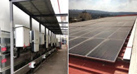 يونيبال: بدء تشغيل نظام توليد الطاقة بإستخدام الخلايا الشمسية في مبنى المستودعات المركزية