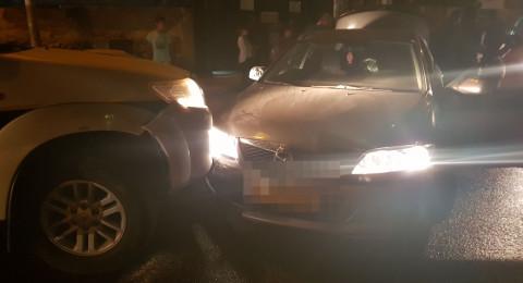 فتى من كفر قرع لم يتجاوز الـ15 من عمره يقود سيارته ثملًا