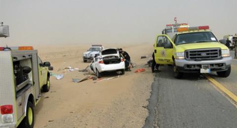 السعودية تسجل أول حالة وفاة في حادث سيارة تقودها سيدة