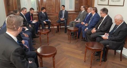 الأسد: هذه الدول ستشارك في إعادة الإعمار