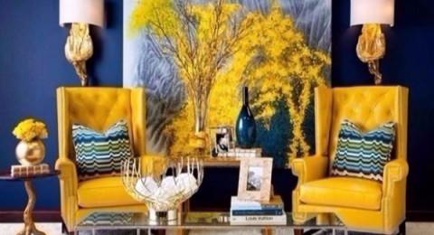 الإكسسوارات المنزلية تزهو بالأصفر الخردلي
