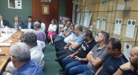 الناصرة تعتز بأبنائها البرَرَة: وسيم وشادي شومر في ضيافة بلدية الناصرة ورئيسها