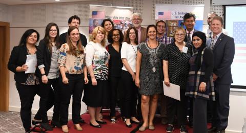 السفارة الامريكية تحتفل بانطلاق مشاريع برنامج