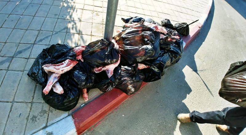 الشرطة تدعي: احباط عمليه تهريب نحو 1.5 طن من اللحوم