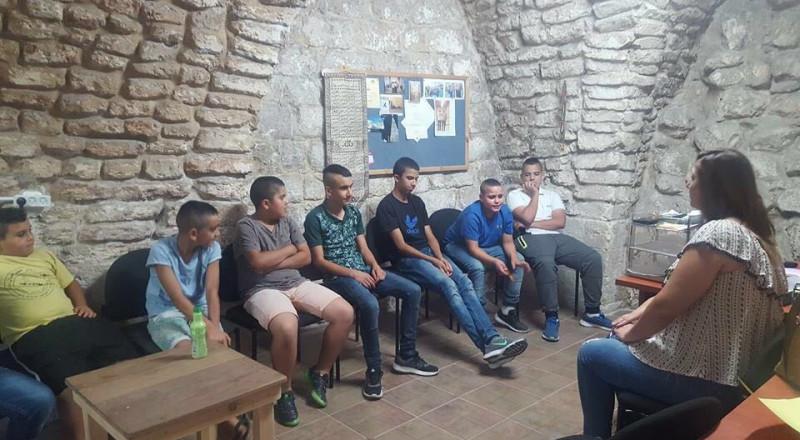 نادي البلدة القديمة يبدأ بدورات ارشادية لجيل الشباب