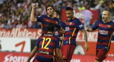 لاعبو برشلونة يعتذرون على الظهور التنكري بعد مباراة خيتافي