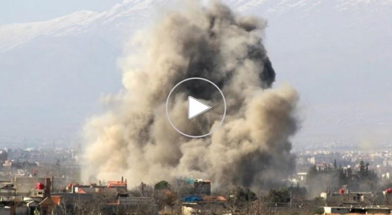 الجيش السوري يبدأ عملية عسكرية لتأمين أوتستراد دمشق حمص