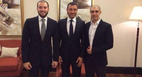 صورة كاظم الساهر مع ابنيه تثير تساؤلات الجمهور