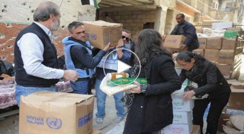 ايقاف عجل الدراسه في مخيم اليرموك المحاصر