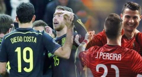 إسبانيا تهزم إيطاليا ورونالدو يقود البرتغال لسحق الكاميرون