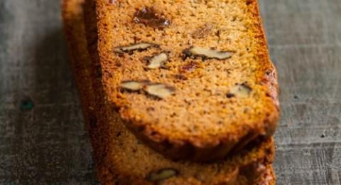 خبز اليقطين وحبة البركة خالي من الجلوتين من مجلس تربية الدواجن