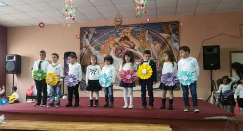 آذار العائلة في المدرسة الابتدائية للروم الكاثوليك- الواصفيّة في الناصرة