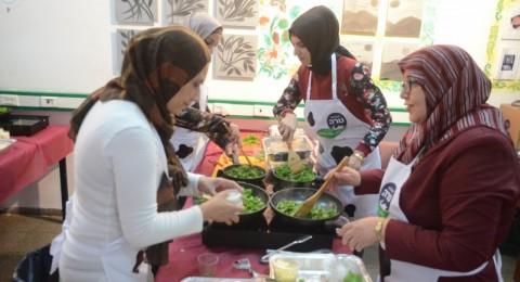 محلبة طارة مستمرة في ورشات الطهي الصحي بقيادة الماستر شيف نوف عثامنة إسماعيل وهذه المرة في مدينة ام الفحم