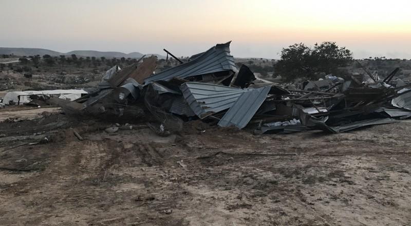 السُلطات الإسرائيلية تمدد إخلاء النهائي لقرية أم الحيران 3 أشهر