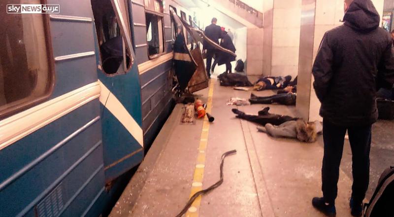 الكشف عن هوية منفذ تفجير بطرسبورغ، وأنباء انه قرغيزستاني