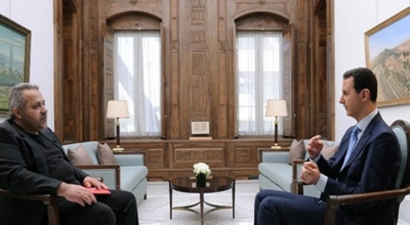 الأسد يحذّر من التدخلات العسكرية في الأجواء السورية