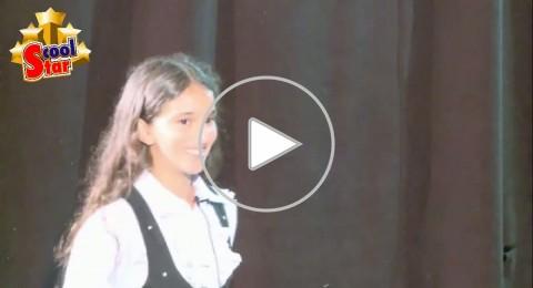 Scool star: استمعوا إلى أداء الموهبة حلا مصطفى