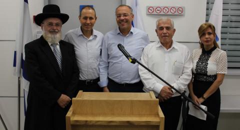 افتتاح المقر الجديد لدائرة الاجراء في عكا