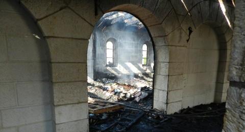 الناصرة: ادانة مستوطن بإحراق كنيسة الطابغة عام 2015