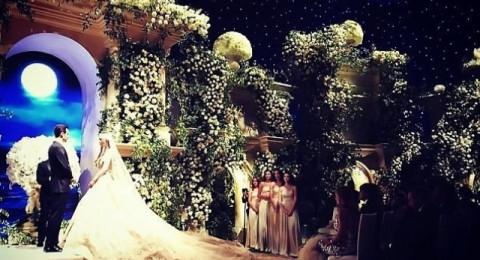زفاف روسي أسطوري بلمسة عربية