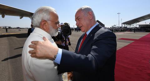 نتنياهو لرئيس وزراء الهند: ننتظرك منذ 70 عامًا