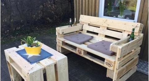 10 أفكار مميزة لأريكة بسيطة لحديقة المنزل